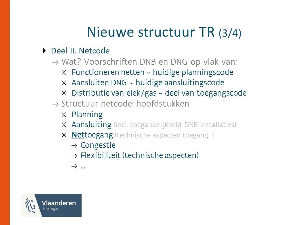 Nieuwe structuur TR (3/4) Deel II. Netcode Wat.