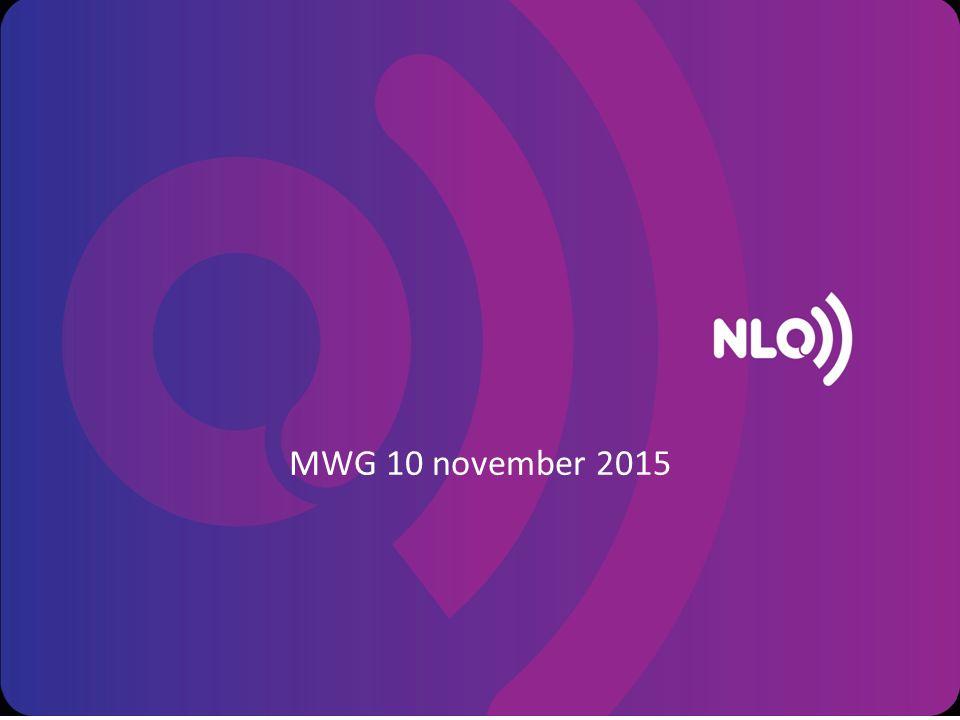 MWG 10 november 2015