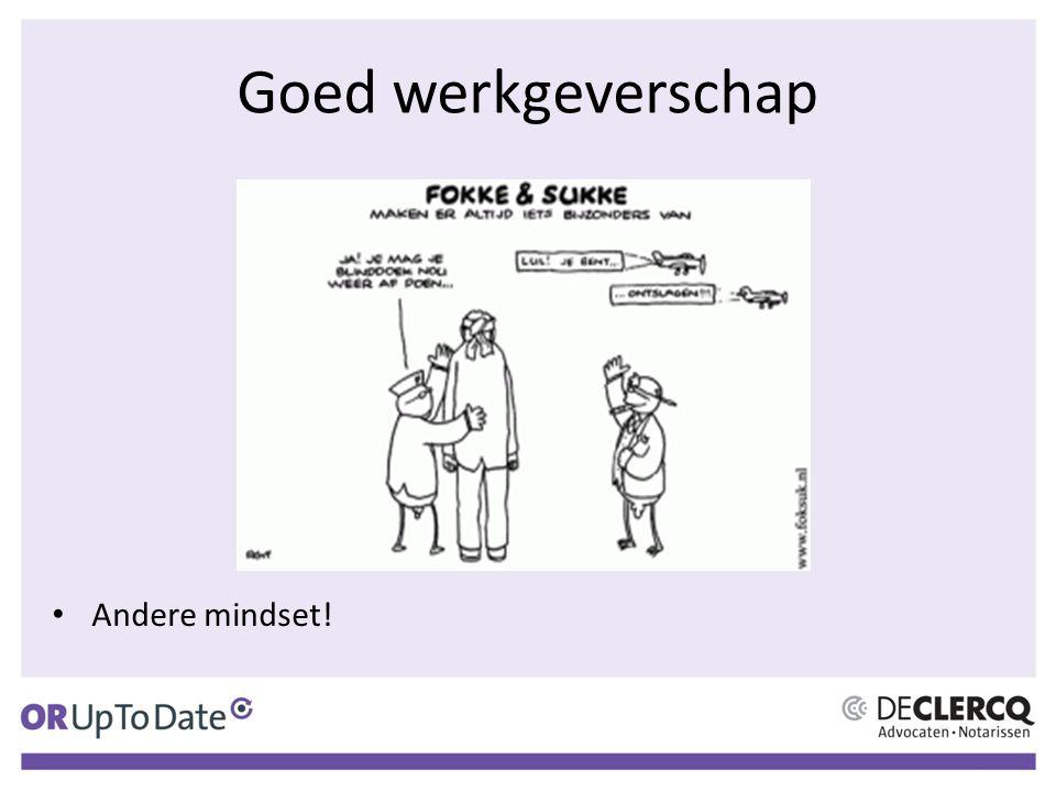 Goed werkgeverschap Andere mindset!