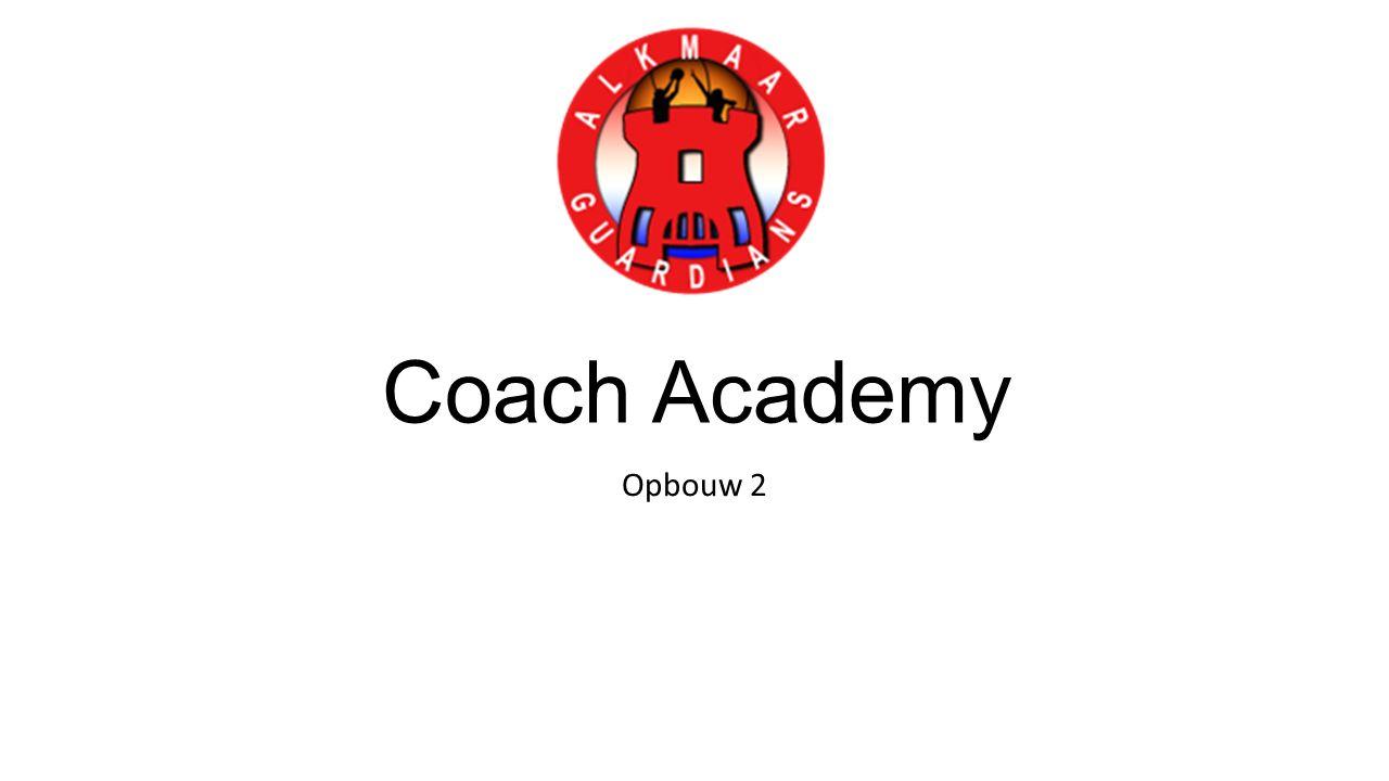 Coach Academy Opbouw 2