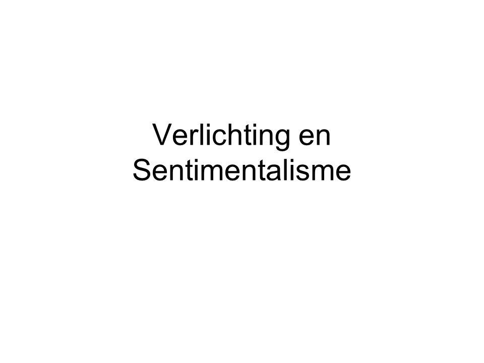 Verlichting en Sentimentalisme