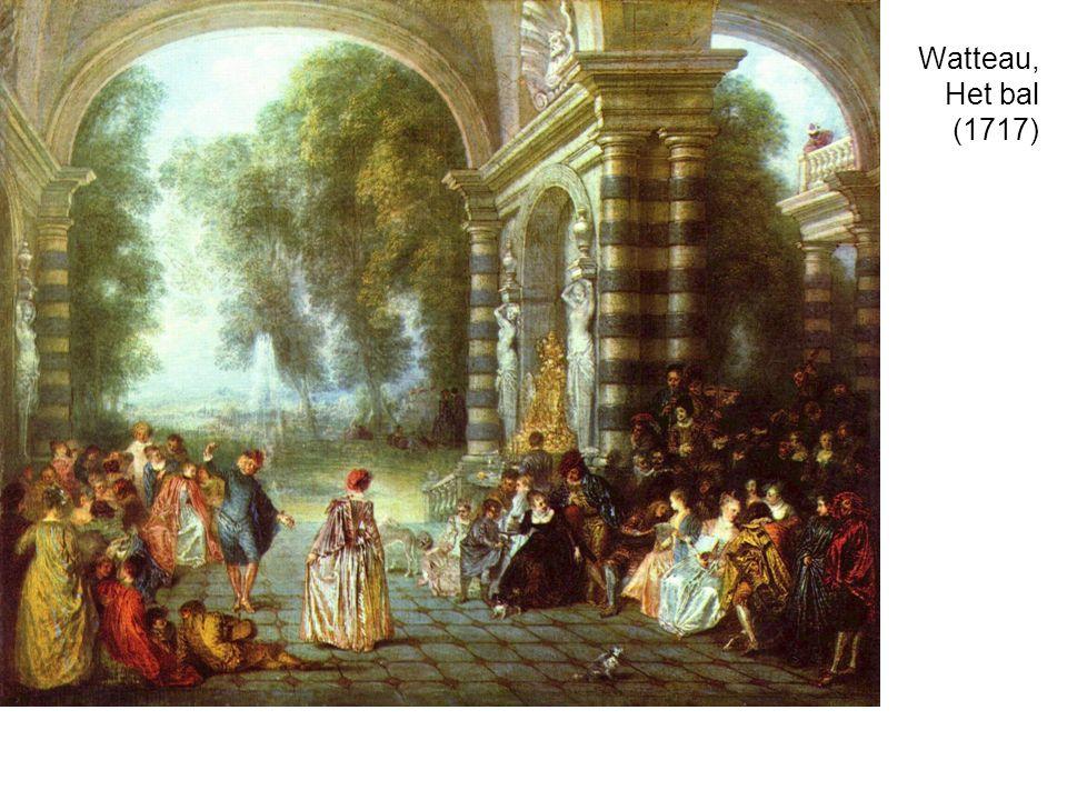 Watteau, Het bal (1717)