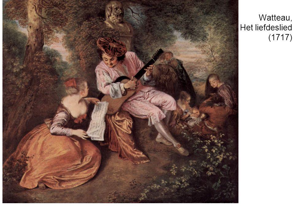 Watteau, Het liefdeslied (1717)