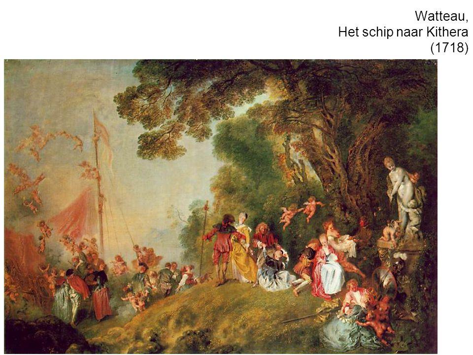 Watteau, Het schip naar Kithera (1718)