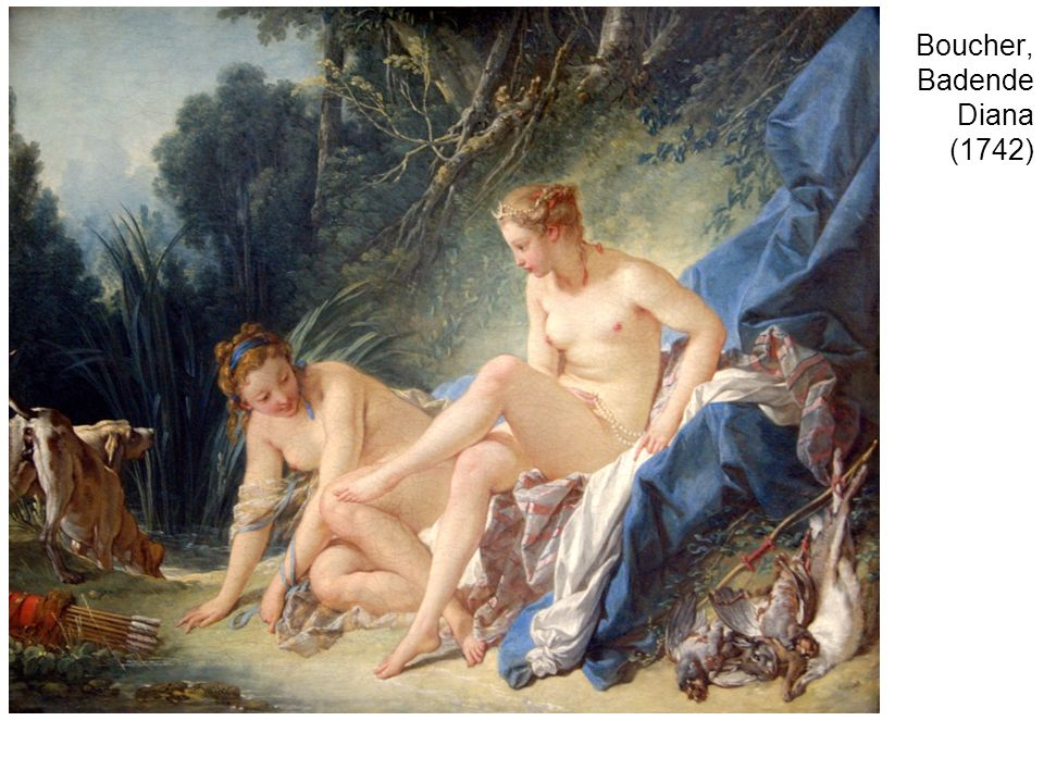 Boucher, Badende Diana (1742)