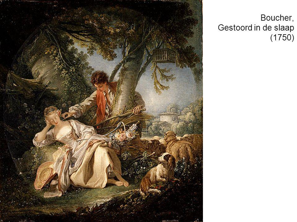 Boucher, Gestoord in de slaap (1750)