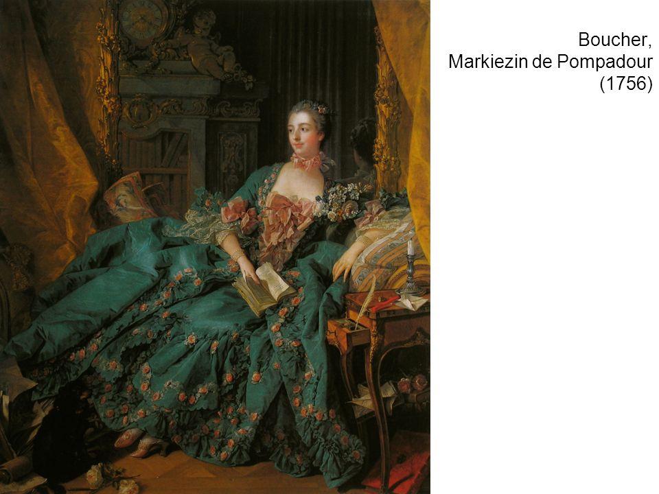 Boucher, Markiezin de Pompadour (1756)