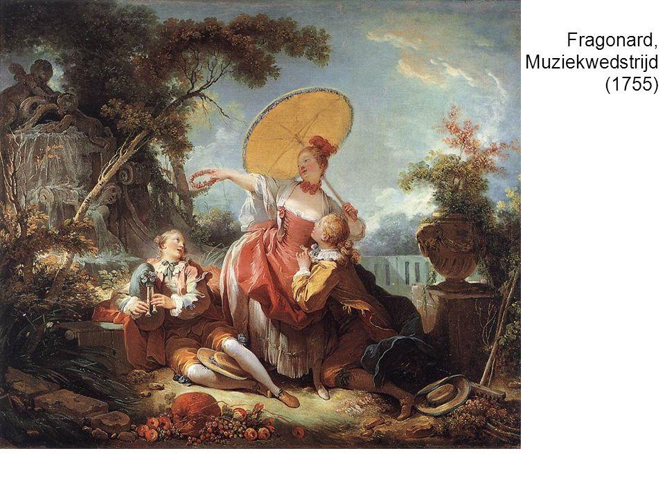 Fragonard, Muziekwedstrijd (1755)