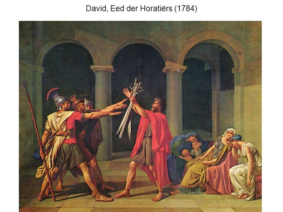 David, Eed der Horatiërs (1784)