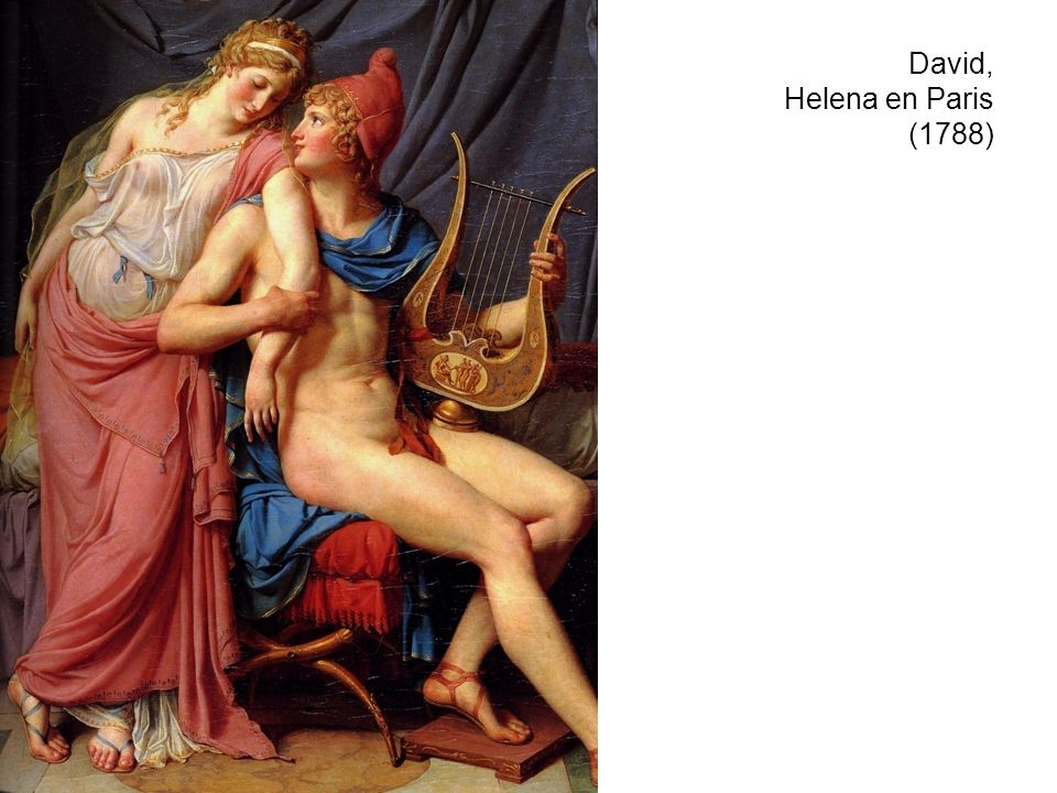 David, Helena en Paris (1788)