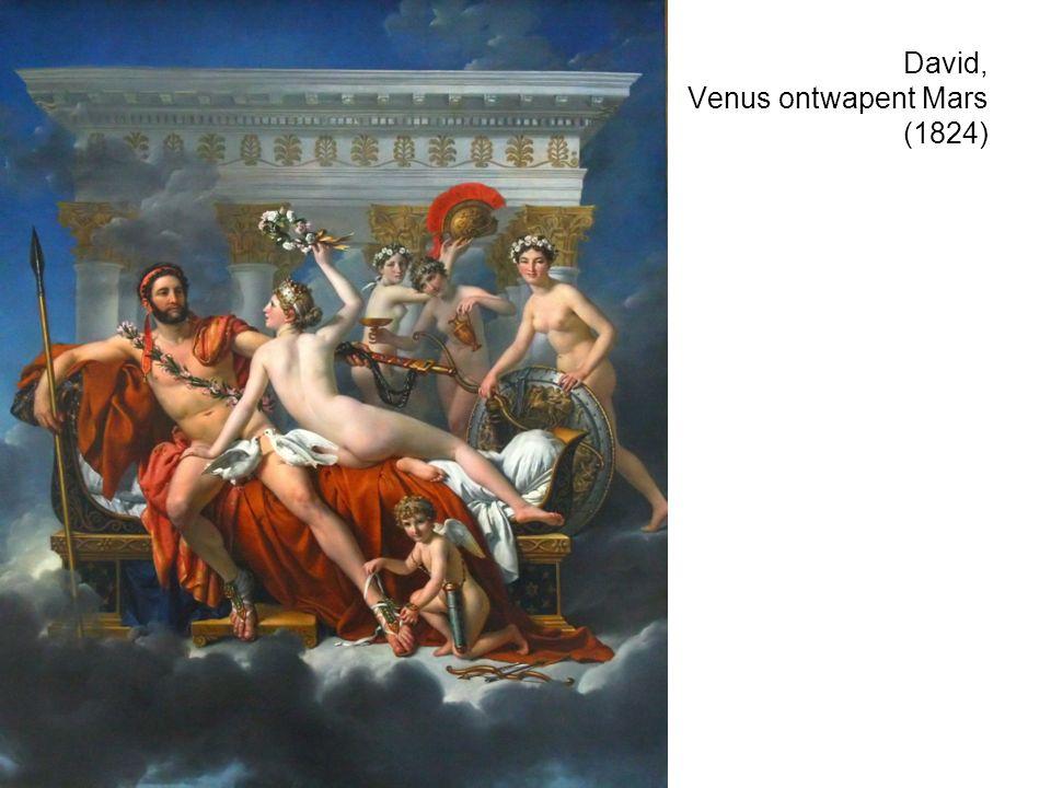 David, Venus ontwapent Mars (1824)