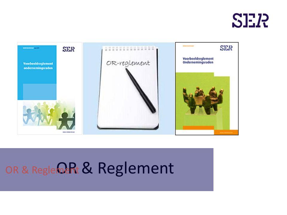 OR & Reglement