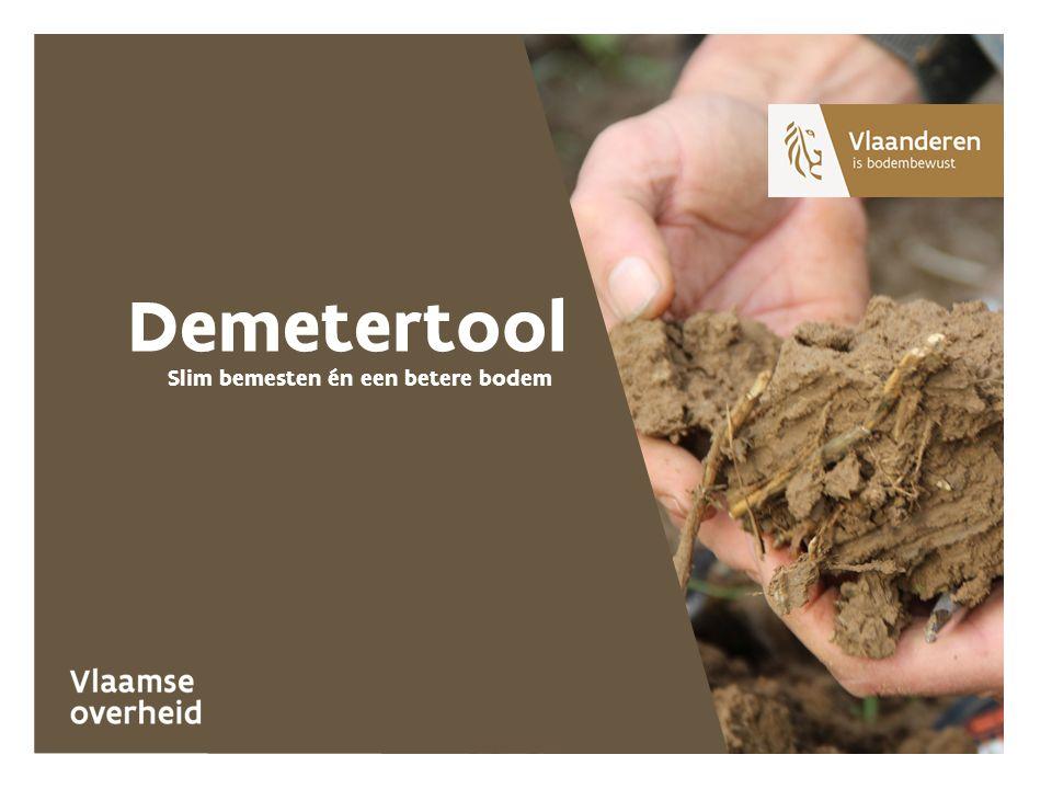 Slim bemesten én een betere bodem Demetertool