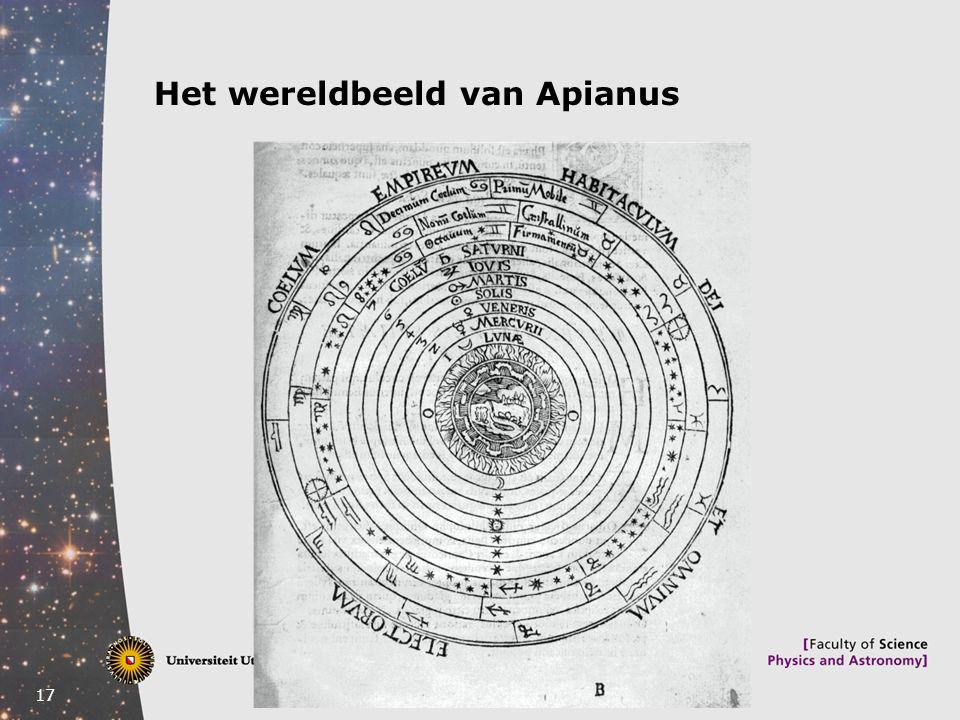 17 Het wereldbeeld van Apianus