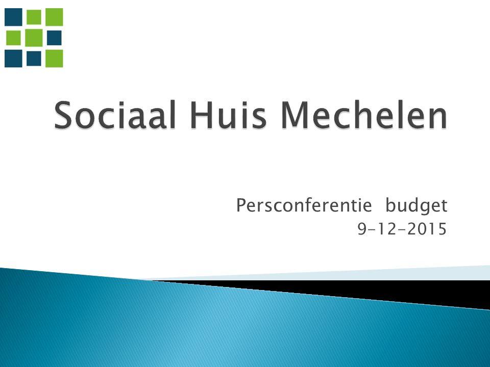 Persconferentie budget 9-12-2015