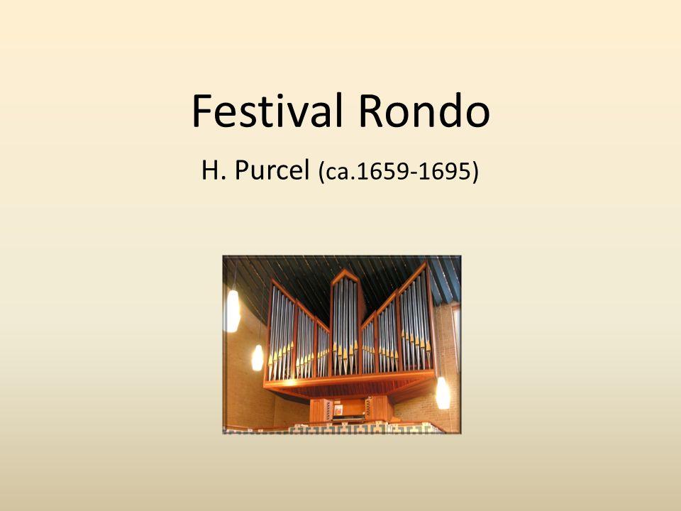 Festival Rondo H. Purcel (ca.1659-1695)