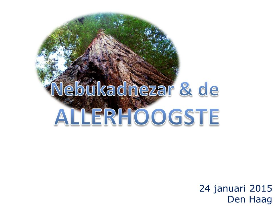 24 januari 2015 Den Haag