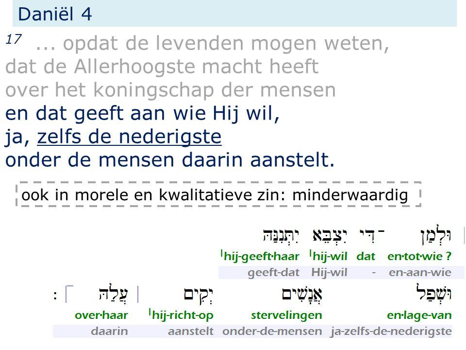 Daniël 4 17...