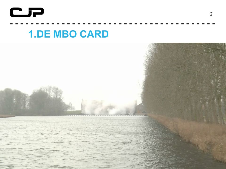 3 ' 1. DE MBO CARD