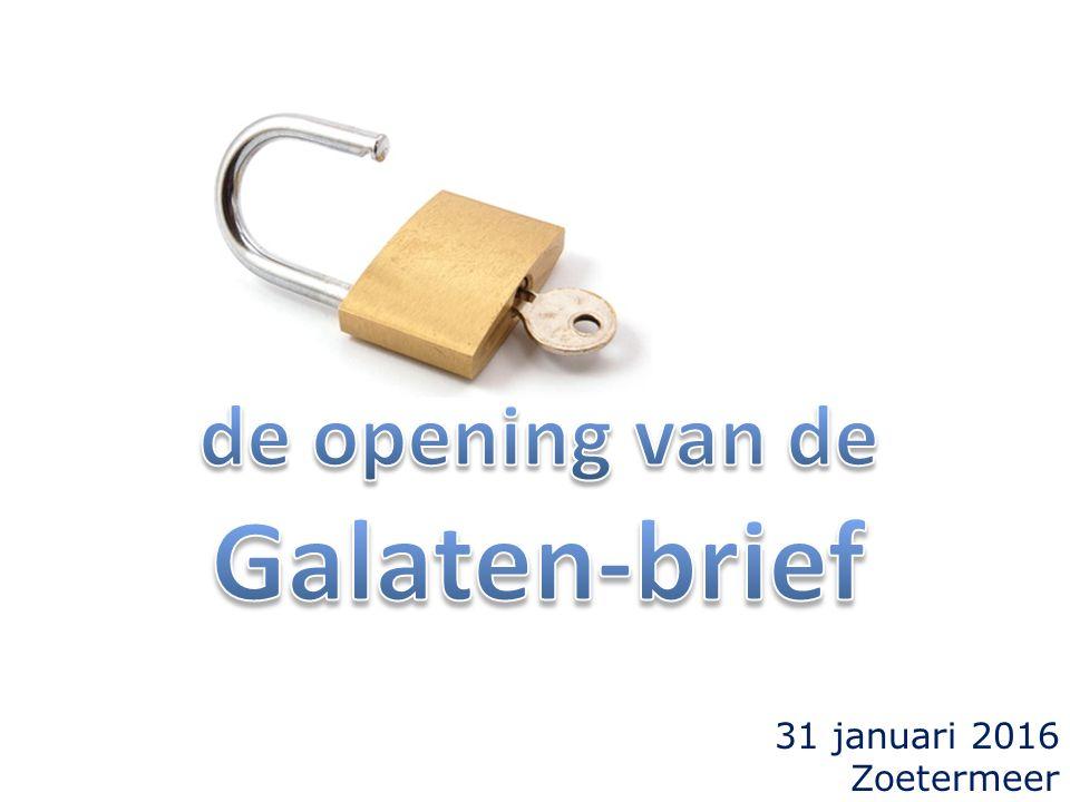 31 januari 2016 Zoetermeer