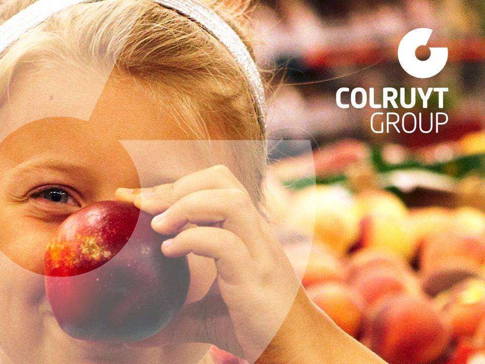 Omzet Colruyt Group 14-15 = 8.916,8 mio euro van de groepsomzet Detailhandel Groothandel & foodservice Overige activiteiten