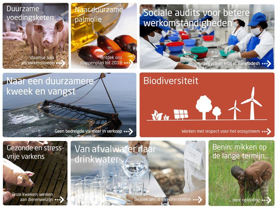 klanten producenten overheden NGO'S Kenniscentra, universiteiten retailsector 10.000 foodproducten Internationale context