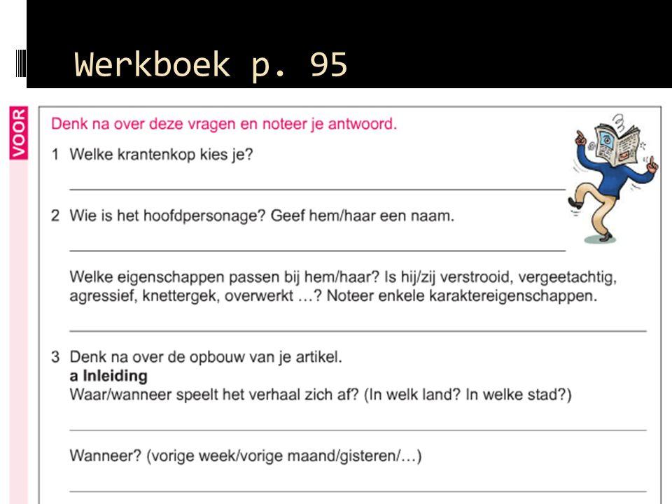 Werkboek p. 95