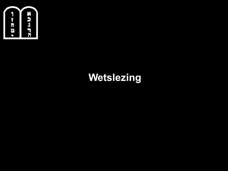 Wetslezing