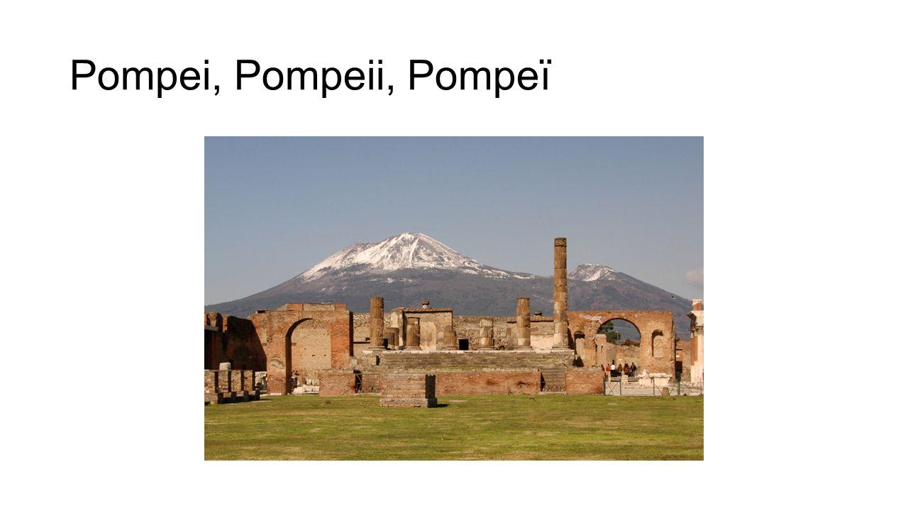Pompei, Pompeii, Pompeï