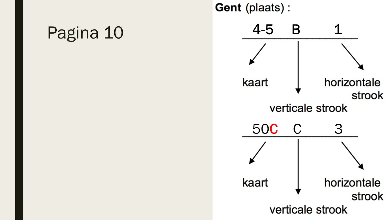 Pagina 10 4-5 B 1 50C C 3