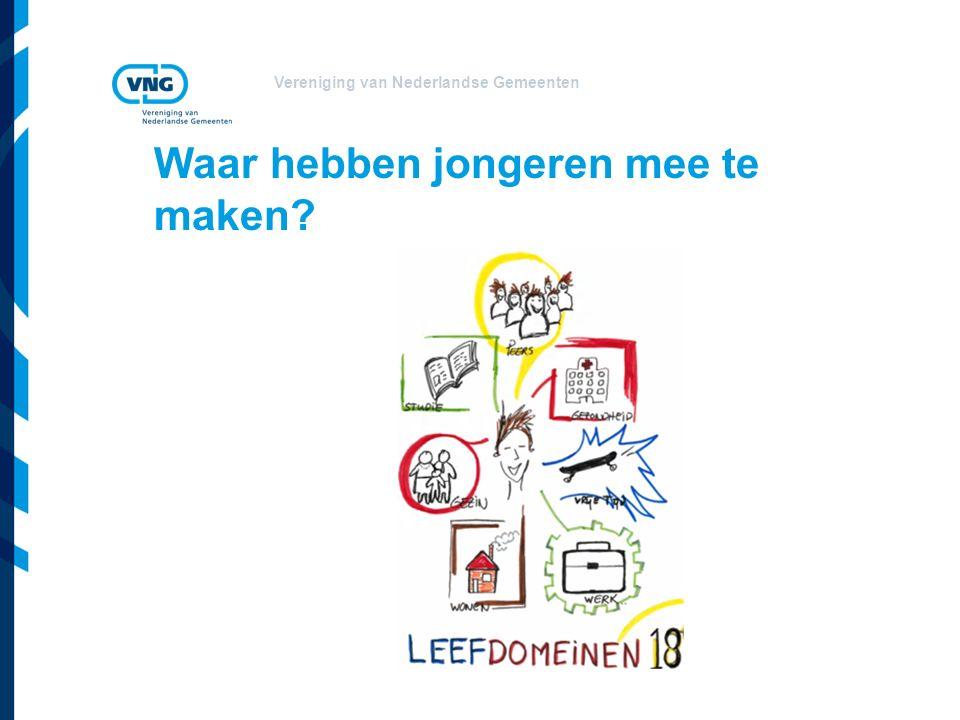 Vereniging van Nederlandse Gemeenten Waar hebben jongeren mee te maken