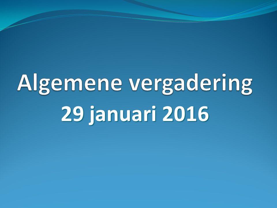 29 januari 2016