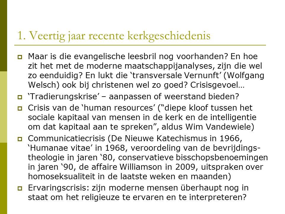 3.Naar een spiritueel vitale kerk in Vlaanderen 1.