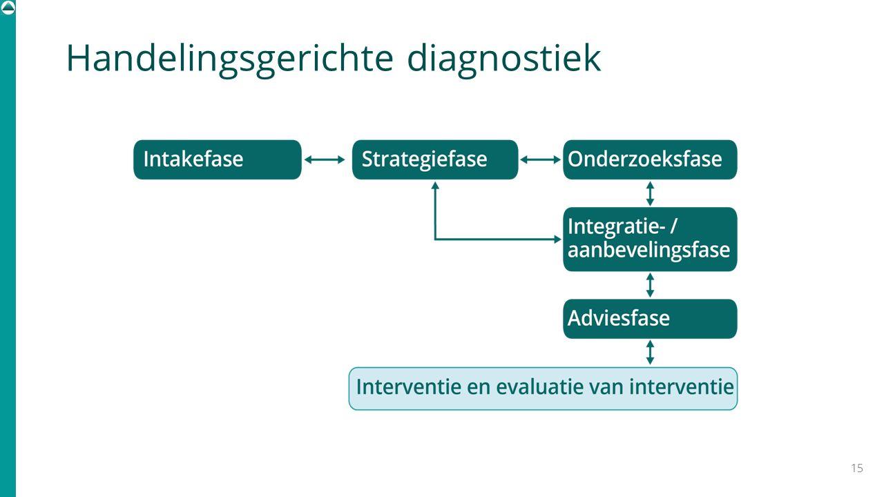 Handelingsgerichte diagnostiek 15