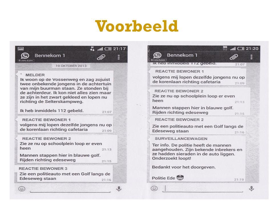 Voorwaarden tot deelname minimale leeftijd 18 jaar woonachtig/gevestigd in gemeente Brummen gebruik de SAAR volgorde laat elkaar weten dat 112 is gebeld taalgebruik overtreedt geen regels/wetten serieus gebruik
