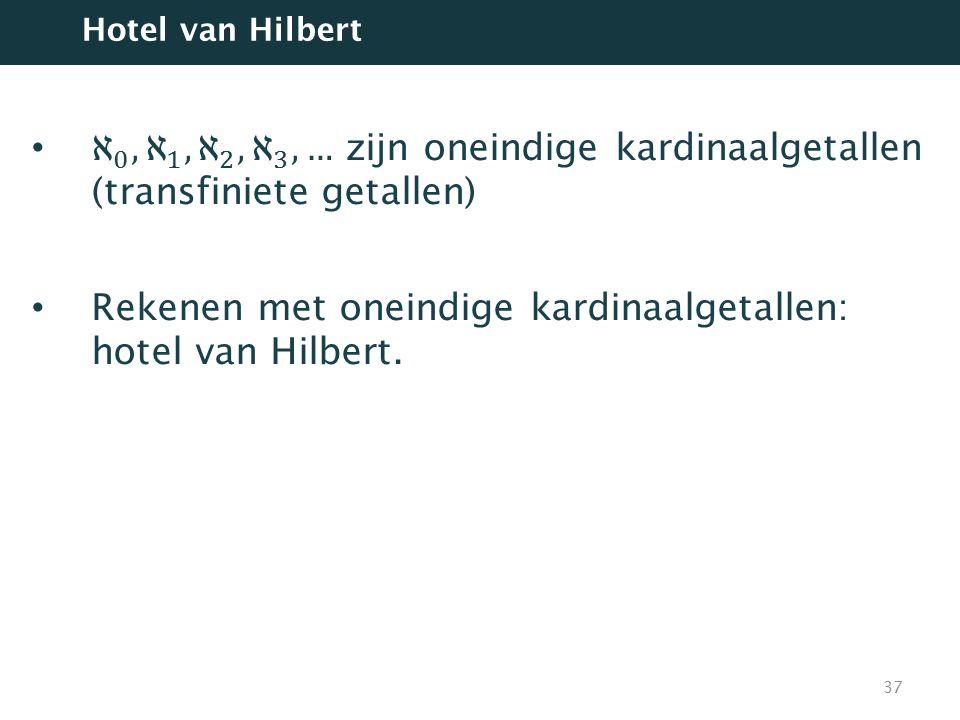 37 Hotel van Hilbert
