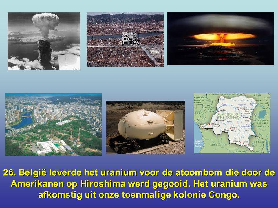 25. Ludwig von Beethovens wortels liggen in Mechelen en daarvoor in Boortmeerbeek en Kampenhout.