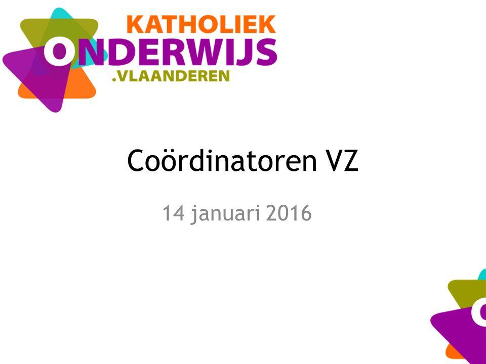 Coördinatoren VZ 14 januari 2016