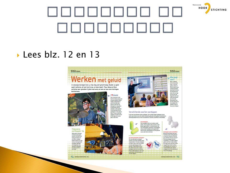  Lees blz. 12 en 13