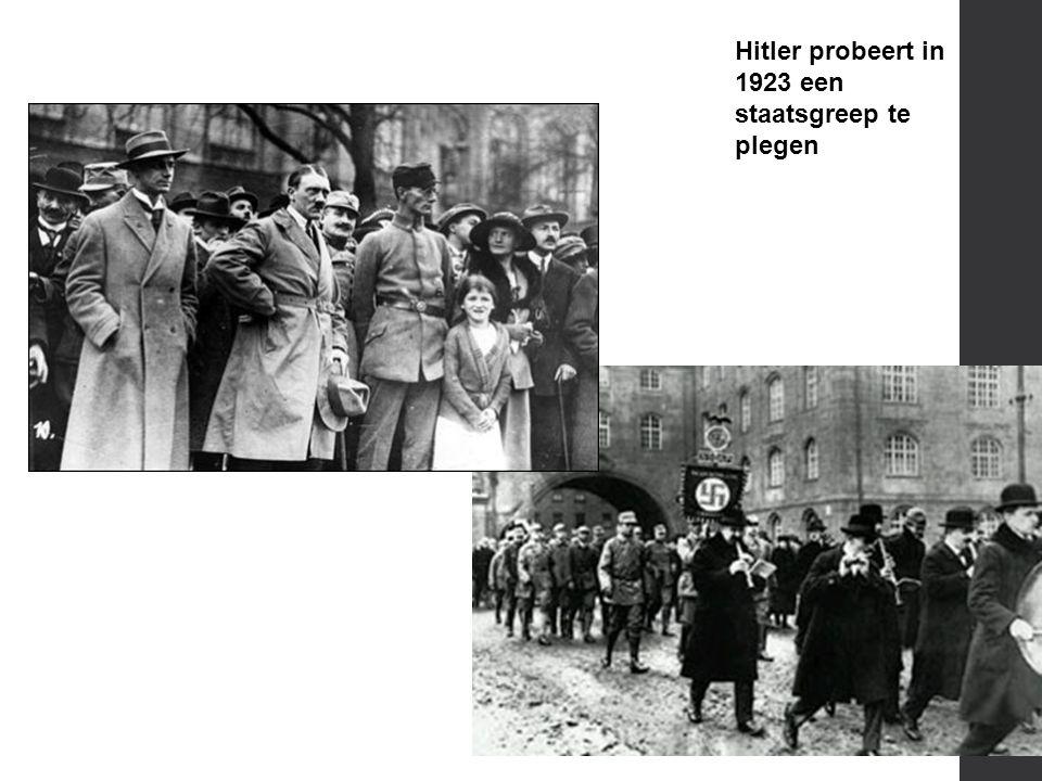 1923  In 1923 besluit de VS Duitsland financieel te steunen (Young-Dawes pact)  Frankrijk ziet in dat er niets te halen valt  Vanaf 1923 groeit de economie