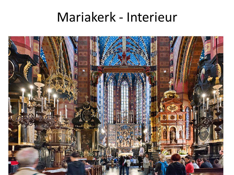 Mariakerk - Hoogaltaar van Veit Stoss