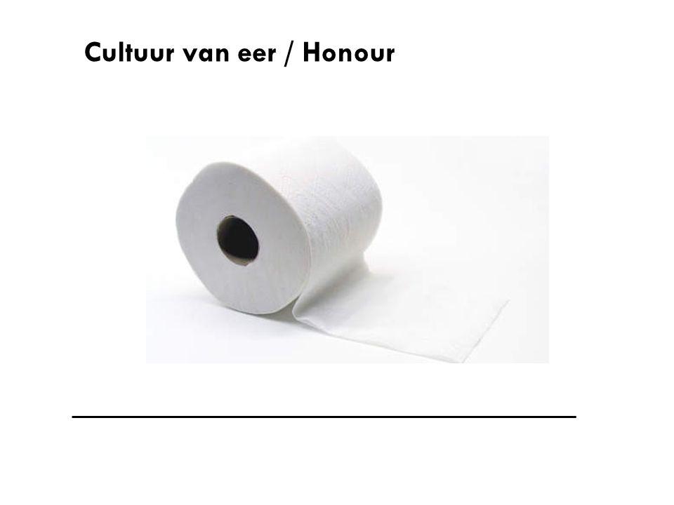 Cultuur van eer / Honour