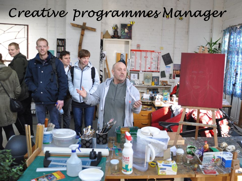 Creative programmes Manager
