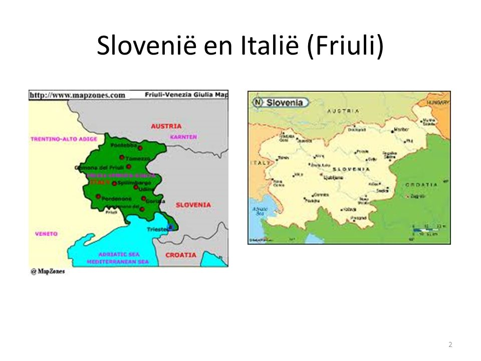 Slovenië en Italië (Friuli) 2