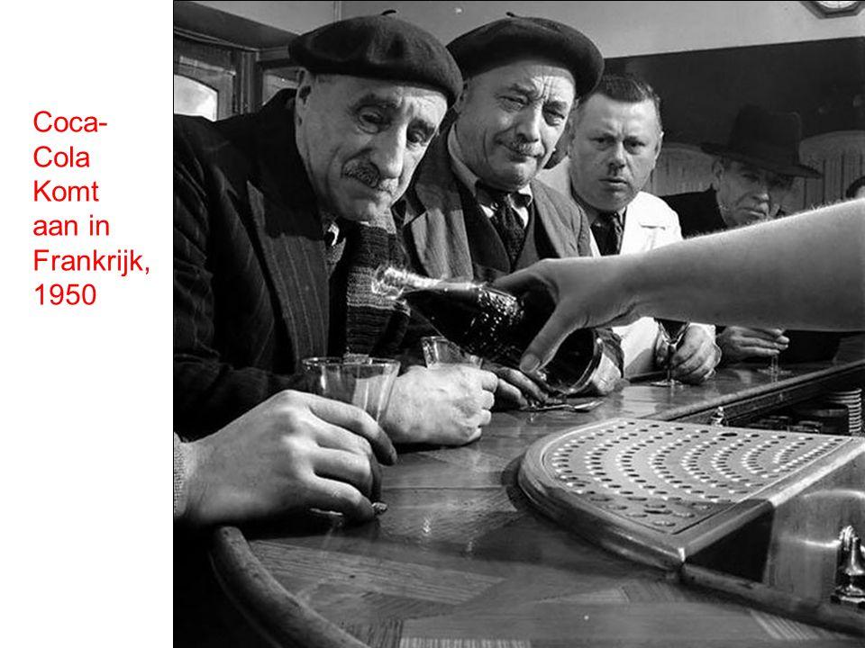 Coca- Cola Komt aan in Frankrijk, 1950