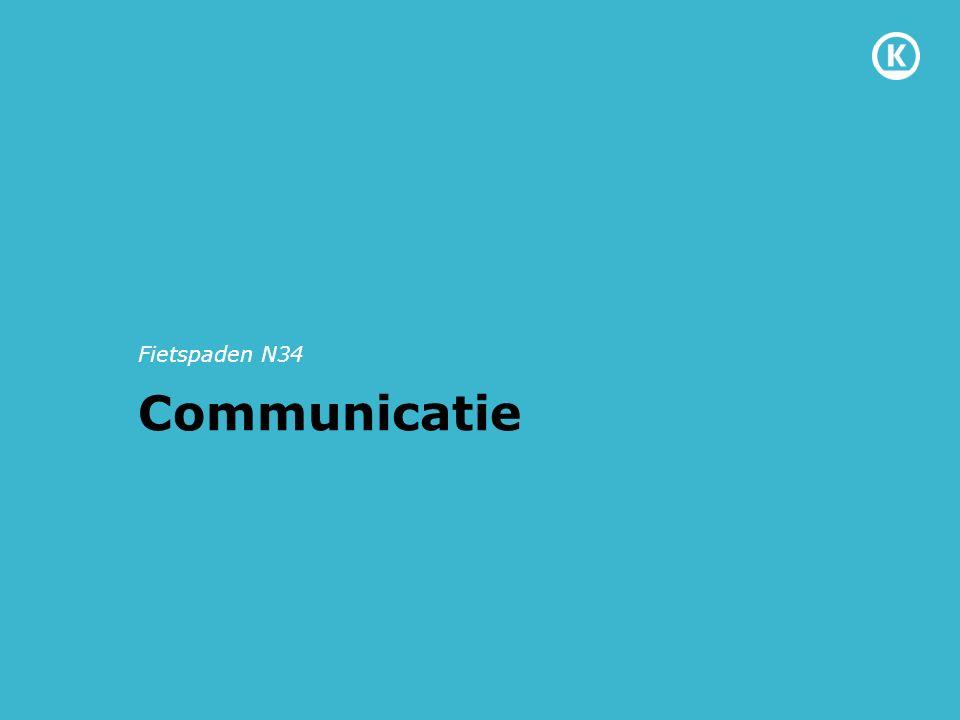 Communicatie Fietspaden N34