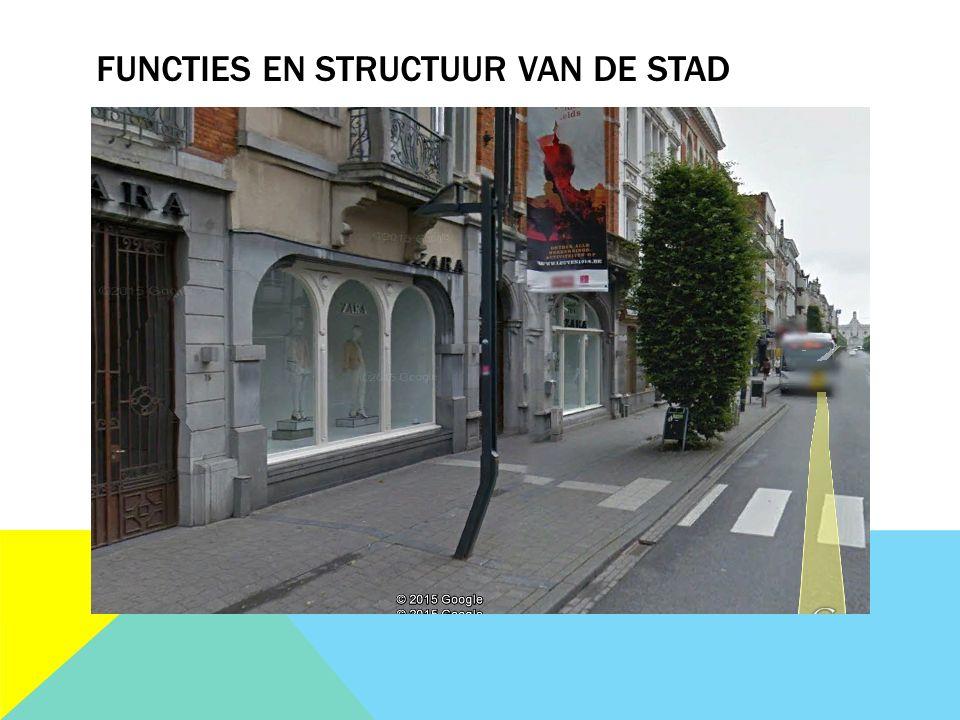 FUNCTIES EN STRUCTUUR VAN DE STAD
