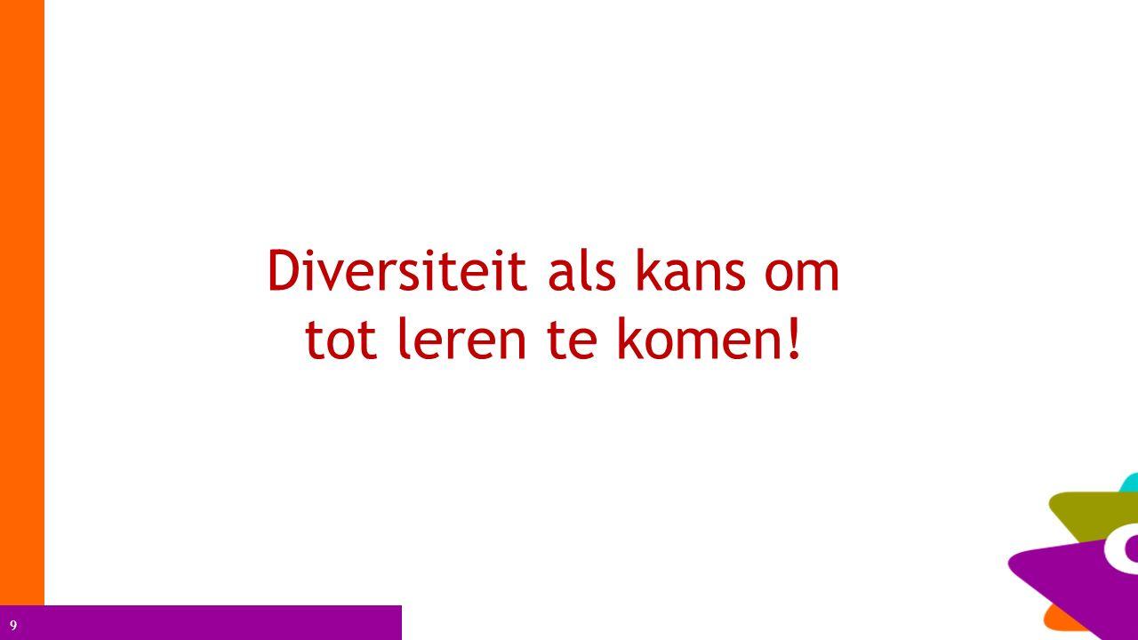 9 Diversiteit als kans om tot leren te komen!