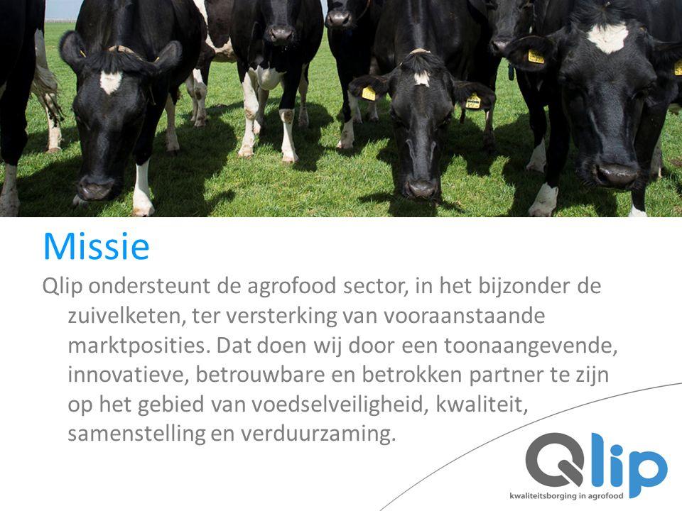 Qlip ondersteunt de agrofood sector, in het bijzonder de zuivelketen, ter versterking van vooraanstaande marktposities. Dat doen wij door een toonaang