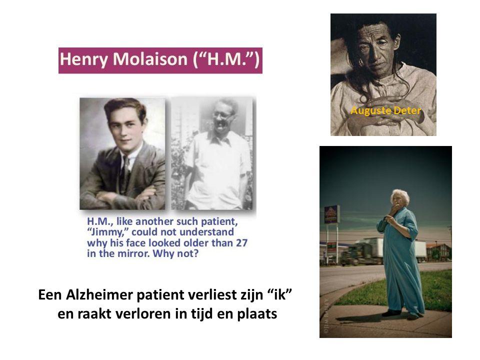 Een Alzheimer patient verliest zijn ik en raakt verloren in tijd en plaats Auguste Deter